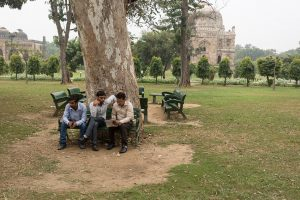Lodi Gardens, New Delhi, India.