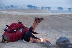 Thar Desert, Rajasthan, India.