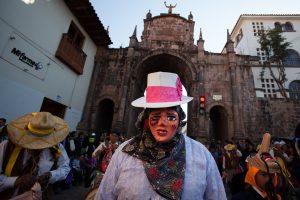 Virgen de la Almudena - Cusco, Perú